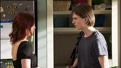 Nicolette Stone, Brent Colefax in Neighbours Episode 8551