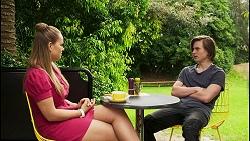 Harlow Robinson, Brent Colefax in Neighbours Episode 8551