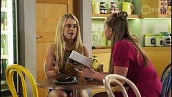Roxy Willis, Harlow Robinson in Neighbours Episode 8552