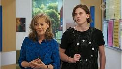 Jane Harris, Brent Colefax in Neighbours Episode 8552
