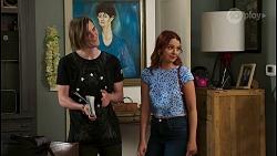 Brent Colefax, Nicolette Stone in Neighbours Episode 8552