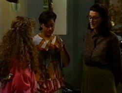 Debbie Martin, Rick Alessi, Dorothy Burke in Neighbours Episode 1753