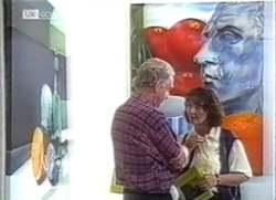 Tom Weaver, Pam Willis in Neighbours Episode 2111