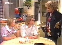 Danni Stark, Brett Stark, Cheryl Stark in Neighbours Episode 2111