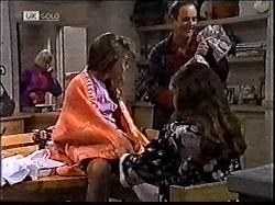 Helen Daniels, Hannah Martin, Philip Martin, Julie Martin in Neighbours Episode 2112