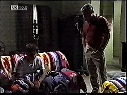 Rick Alessi, Doug Willis in Neighbours Episode 2112
