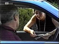 Lou Carpenter, Julie Martin in Neighbours Episode 2112