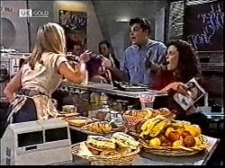 Annalise Hartman, Mark Gottlieb, Gaby Willis in Neighbours Episode 2112