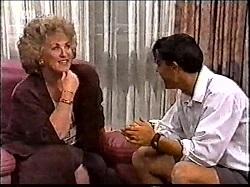 Cheryl Stark, Rick Alessi in Neighbours Episode 2112