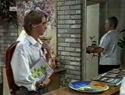 Brett Stark, Lou Carpenter in Neighbours Episode 2121