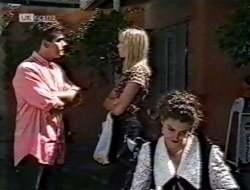Mark Gottlieb, Annalise Hartman, Gaby Willis in Neighbours Episode 2121