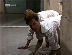 Brett Stark, Rick Alessi in Neighbours Episode 2121