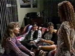 Debbie Martin, Rick Alessi, Michael Martin, Cody Willis in Neighbours Episode 2122