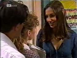 Rick Alessi, Debbie Martin, Sally Pritchard in Neighbours Episode 2122