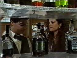 Rick Alessi, Gaby Willis in Neighbours Episode 2122