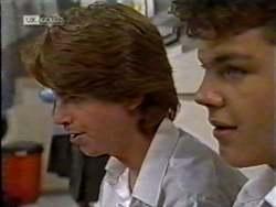 Brett Stark, Michael Martin in Neighbours Episode 2123