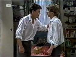 Michael Martin, Brett Stark in Neighbours Episode 2123