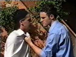 Brett Stark, Stonie Rebecchi in Neighbours Episode 2123