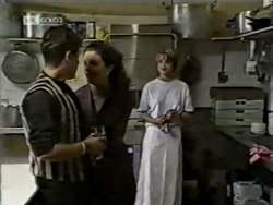 Mark Gottlieb, Gaby Willis, Danni Stark in Neighbours Episode 2124