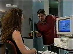 Gaby Willis, Mark Gottlieb in Neighbours Episode 2124