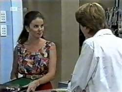 Julie Martin, Brett Stark in Neighbours Episode 2125
