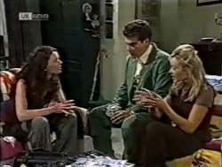 Gaby Willis, Mark Gottlieb, Annalise Hartman in Neighbours Episode 2125