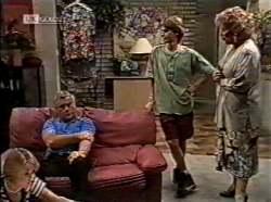 Danni Stark, Lou Carpenter, Brett Stark, Cheryl Stark in Neighbours Episode 2133