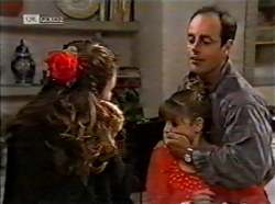 Julie Martin, Hannah Martin, Philip Martin in Neighbours Episode 2133