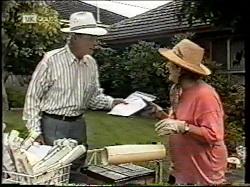 Len Mangel, Anna Borobokas in Neighbours Episode 2134