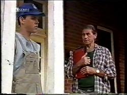 Michael Martin, Doug Willis in Neighbours Episode 2134