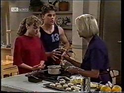 Debbie Martin, Michael Martin, Helen Daniels in Neighbours Episode 2135