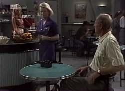 Annalise Hartman, Helen Daniels, Len Mangel in Neighbours Episode 2136