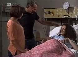 Pam Willis, Doug Willis, Gaby Willis in Neighbours Episode 2136