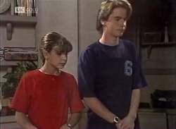 Hannah Martin, Brett Stark in Neighbours Episode 2136