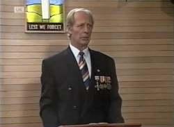 Len Mangel in Neighbours Episode 2136