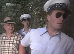 Police Officer #1, Police Officer #2 in Neighbours Episode 2136