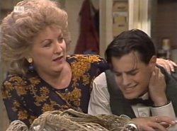 Cheryl Stark, Rick Alessi in Neighbours Episode 2137