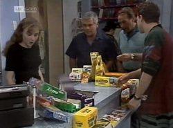 Debbie Martin, Lou Carpenter, Doug Willis, Michael Martin in Neighbours Episode 2137