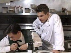Rick Alessi, Mark Gottlieb in Neighbours Episode 2137