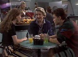 Debbie Martin, Annalise Hartman, Anna Borobokas, Michael Martin in Neighbours Episode 2137