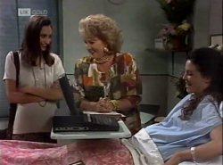 Sally Pritchard, Cheryl Stark, Gaby Willis in Neighbours Episode 2138