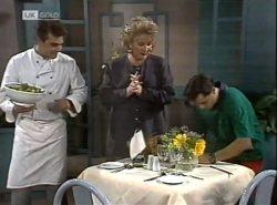 Mark Gottlieb, Cheryl Stark, Rick Alessi in Neighbours Episode 2138