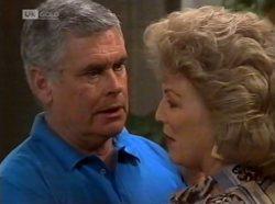 Lou Carpenter, Cheryl Stark in Neighbours Episode 2139