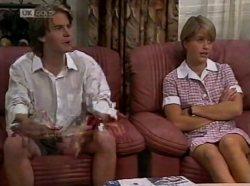 Brett Stark, Danni Stark in Neighbours Episode 2139