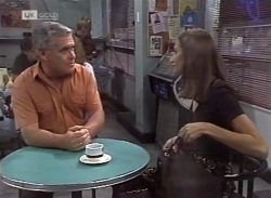 Lou Carpenter, Sally Pritchard in Neighbours Episode 2140