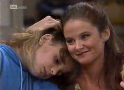 Hannah Martin, Julie Martin in Neighbours Episode 2140