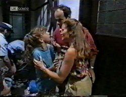 Hannah Martin, Philip Martin, Julie Martin in Neighbours Episode 2141