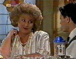 Cheryl Stark, Rick Alessi in Neighbours Episode 2141