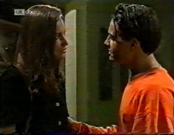 Sally Pritchard, Rick Alessi in Neighbours Episode 2141