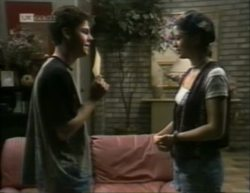 Michael Martin, Danni Stark in Neighbours Episode 2142